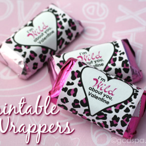 Printable Valentine Candy Wrappers