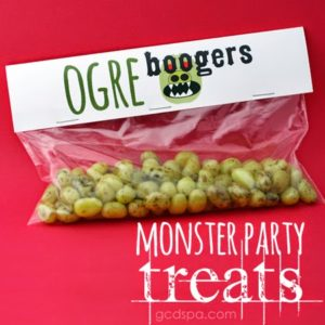 Disgustingly Delicious Monster Party Treats