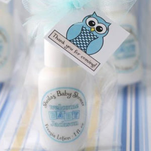Baby Shower Favor ideas Lotions
