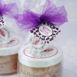 girls night out ideas sugar scrub favors