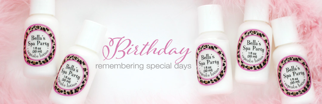 birthday party favors
