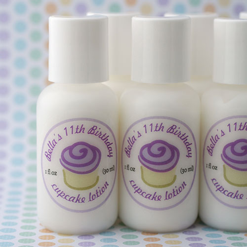 Birthday Party Favors - Lotions