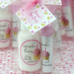 party favor ideas lotions and lip balms