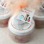 Sugar Scrub Spa Party Favors