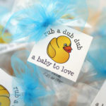 personalized baby shower favors lip balm