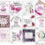 Custom Birthday Party Favor Tags