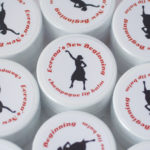 divorce party ideas lip balm favors custom labels