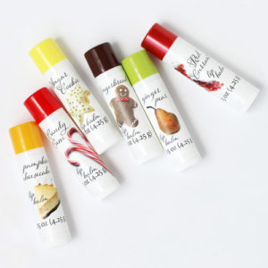 holiday lip balm flavors