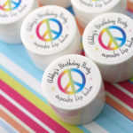 kids birthday party theme custom favors