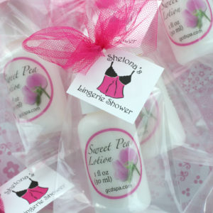 bridal shower favor ideas lotions