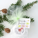 Winter wedding ideas Lip Balm Favors + Custom Tags