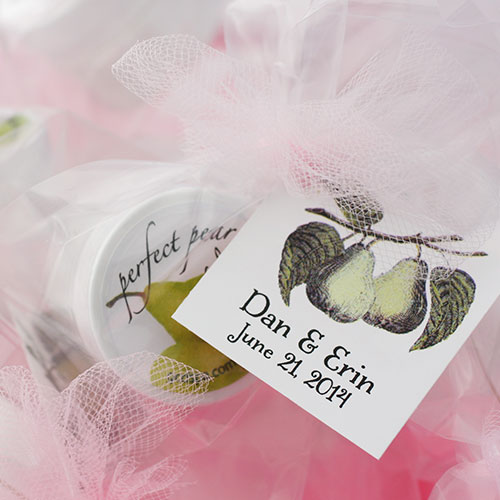 Wedding Custom Tag Lip Balm