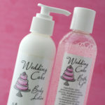 wedding cake bath gel lotion