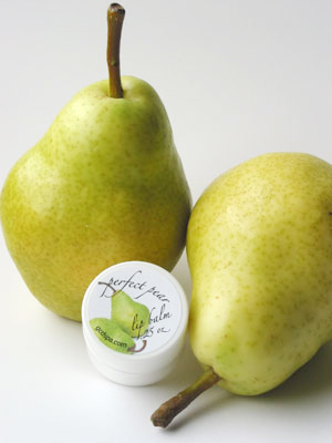 perfect pear lip balm