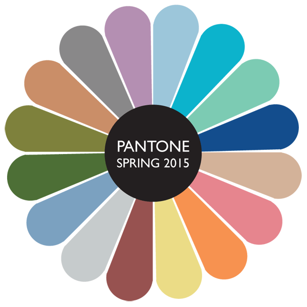 Colors Pantone 2015 Pantone's Color Selections