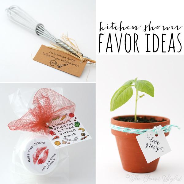 Kitchen Shower Ideas kitchen shower favor ideas   the favor stylist