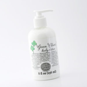 green clover body lotion