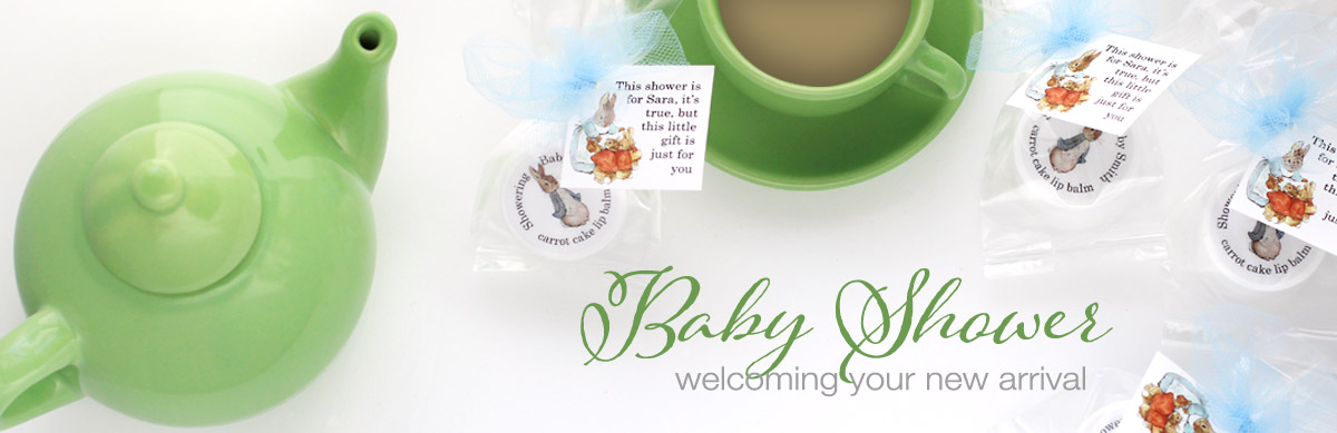 baby shower favors welcoming your new arrival