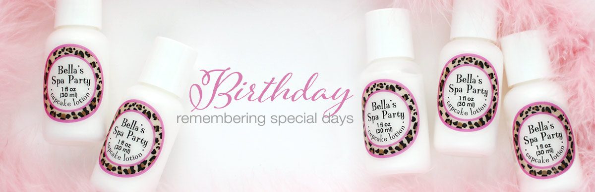 birthday party favors remembering special days
