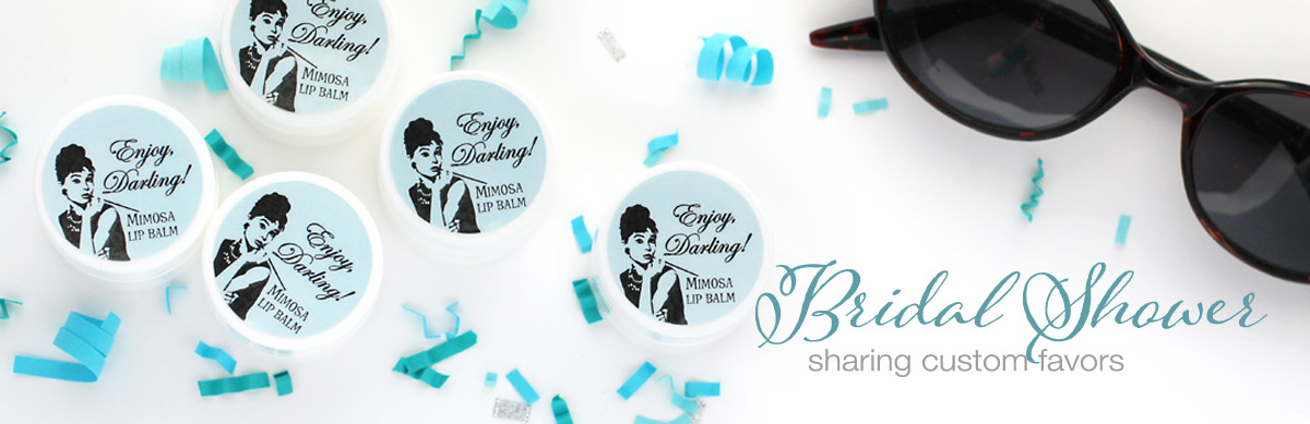 bridal shower favors custom gifts