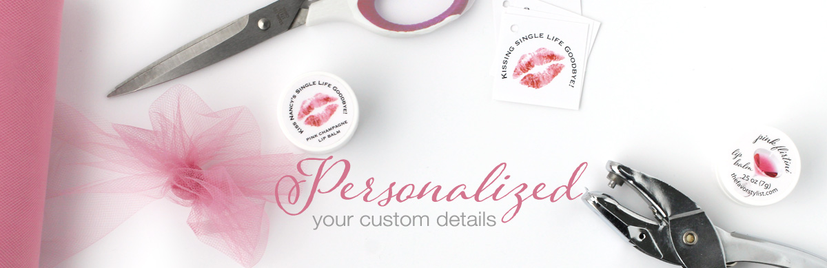 Personalized with your custom details