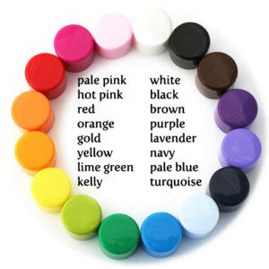 custom lip balm cap colors