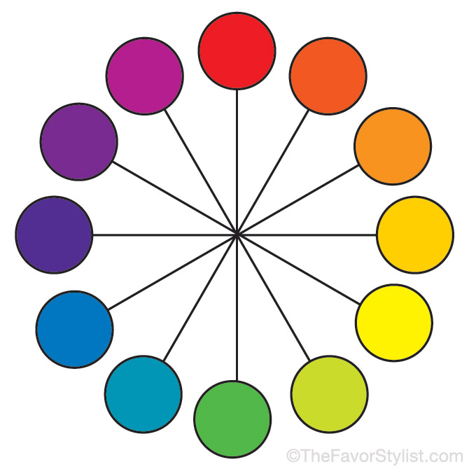 Color Wheel Ideas what color matches blue? | palette ideas from the favor stylist