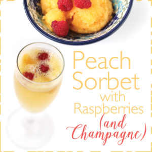 How to Make Peach Sorbet