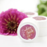 fall wedding favor lip balms