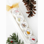holiday lip balms set