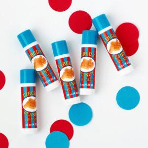 circus peanut lip balm