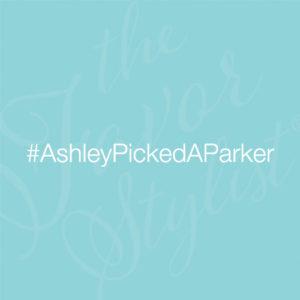 wedding hashtag idea for parker
