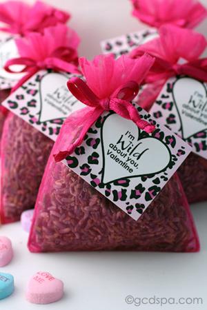 wild Valentine lavender sachets