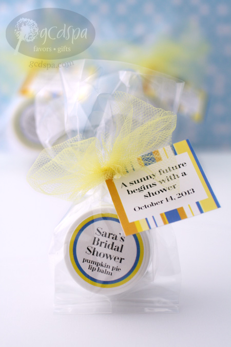 lip balm favors with custom tags and labels sunny future designs 154 1048
