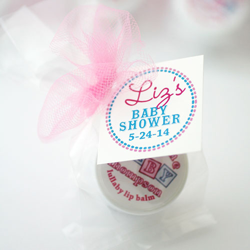 Baby Shower Party Favors Lip Balm By The Favor Stylist