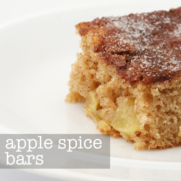 apple spice bars