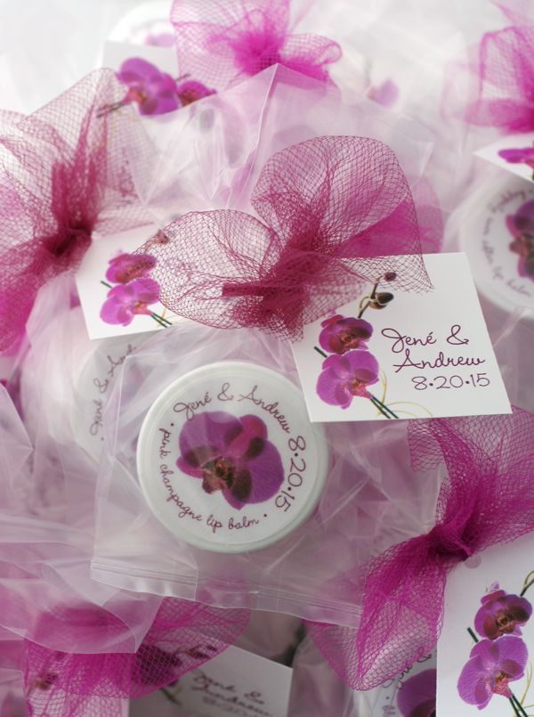 orchid favors celebrating you