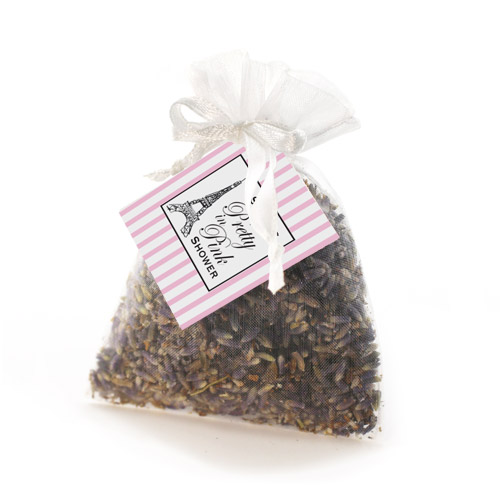 bridal tea favors lavender sachets