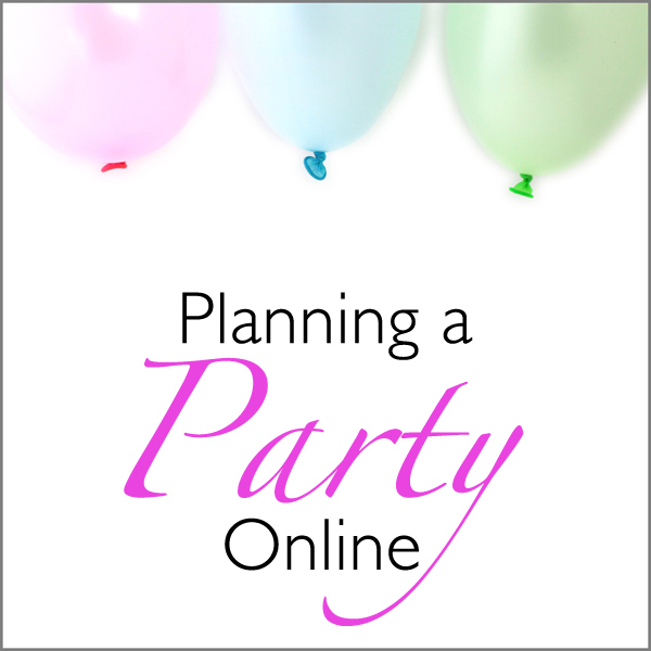 planning a party online