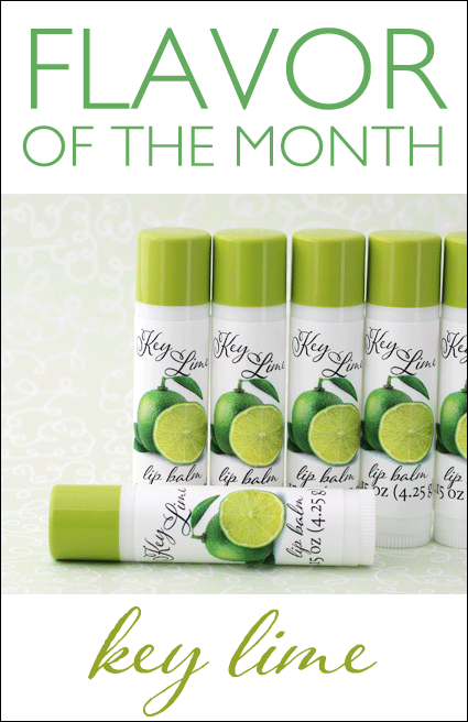 Key lime lip balm for sunny citrus March