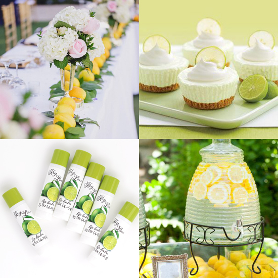 lemon and lime party ideas