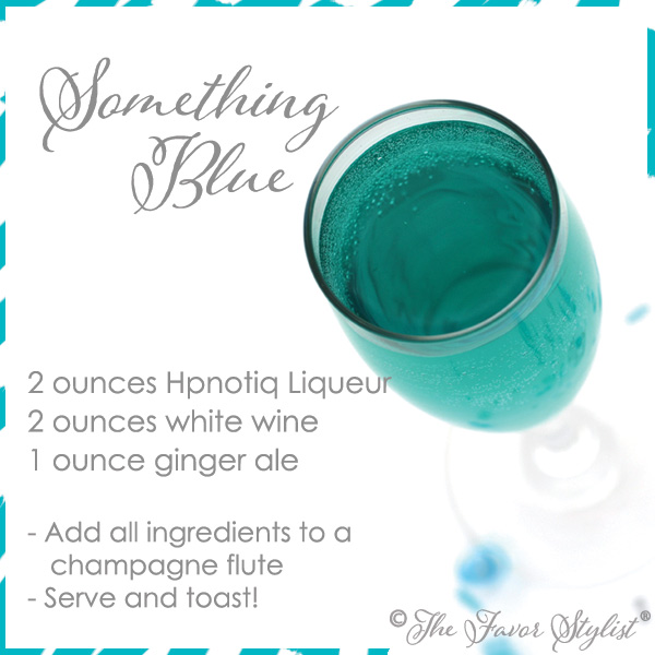 something blue recipe