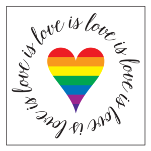 love is love we are lgbtq-friendly