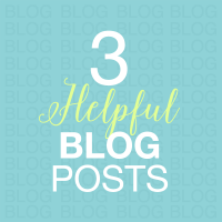 3 helpful blog posts