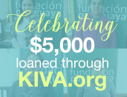 Celebrating $5,000 in Kiva Loans