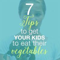 kids eat vegetables