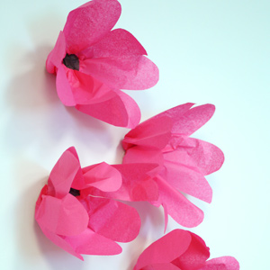 4 simple paper flower tutorials the favor stylist poppies tutorial mightylinksfo