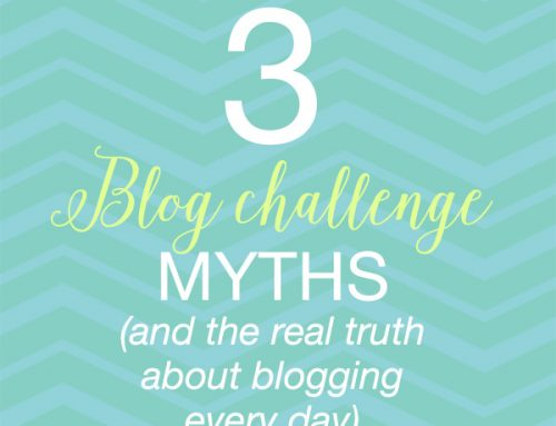 3 Blog Challenge Myths