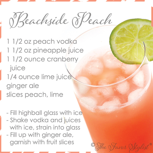 beachside peach recipe