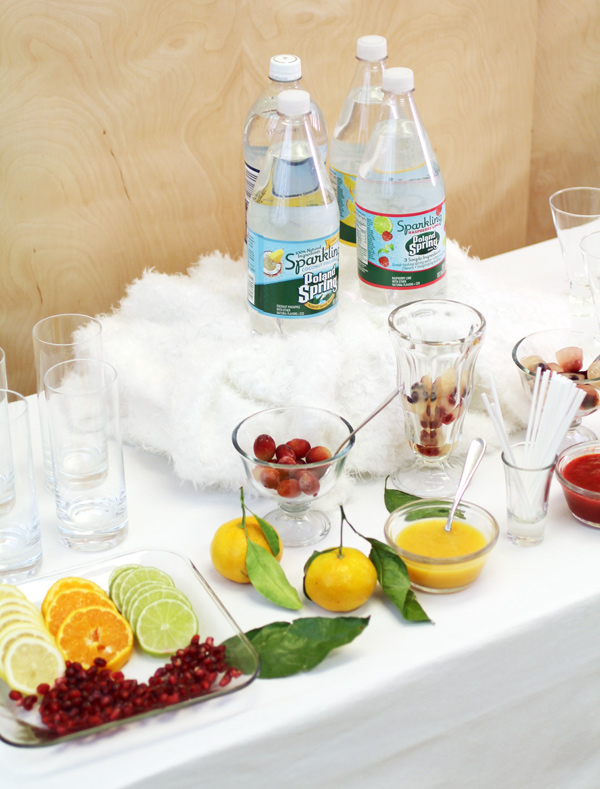 sparkling water bar